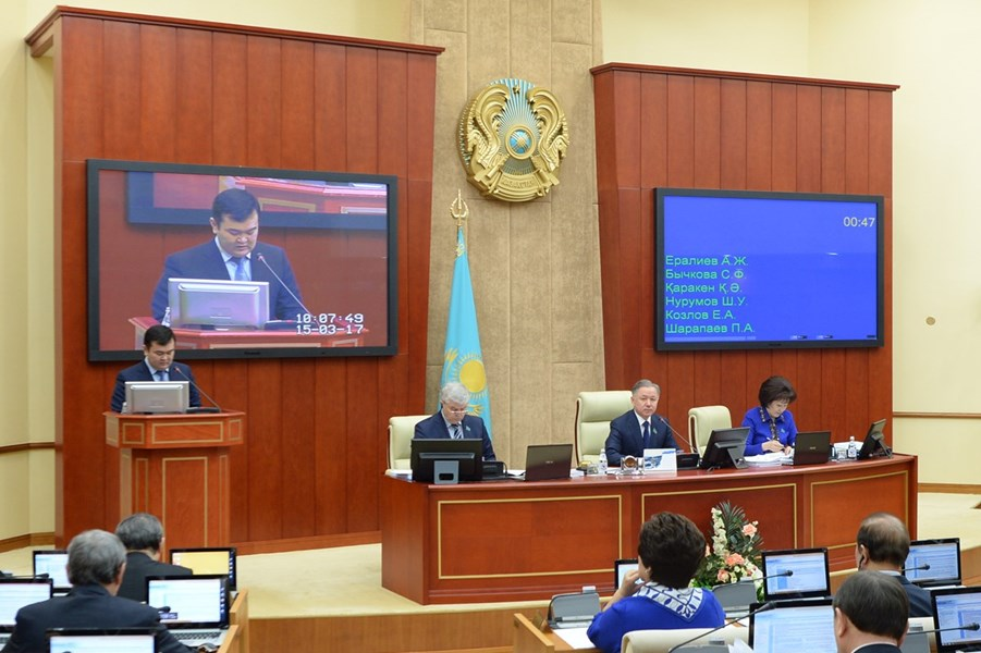 15.03.2017 – the Chamber approved the draft law ratifying the Agreement between Kazakhstan and Serbia on international road service