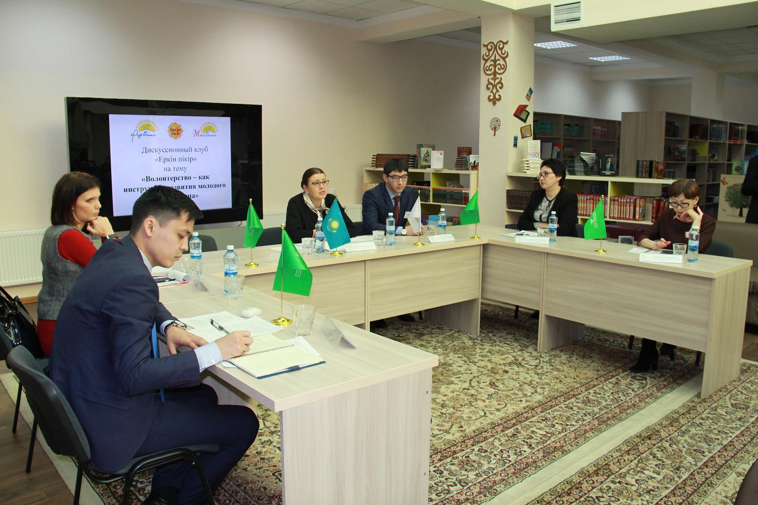 «Назарбаев Интеллектуальная школа» г. Костаная. Встреча с учениками и преподавателями школы.